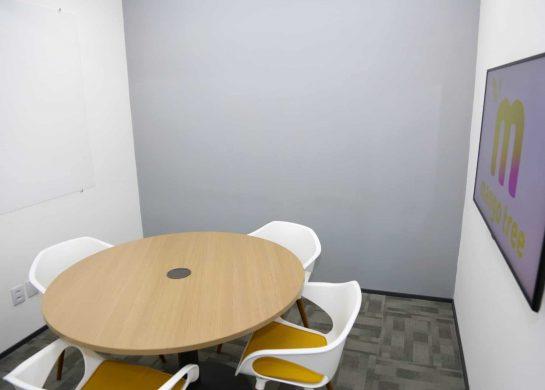 Manga Alpha - Sala de reunião Coworking